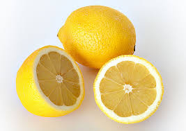 Age spots remedy,lemon juice