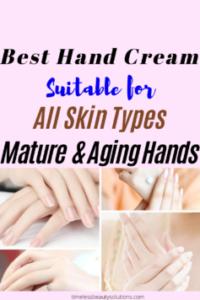 Best anti-aging hand cream