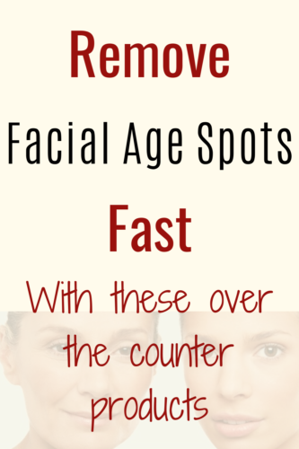 Remove facial agespots