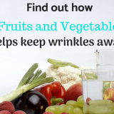 Fruit and vegetable as a wrinkle remedy