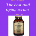 The best anti aging serum