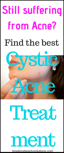 The best cystic acne treatment
