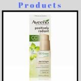 Aveeno facial products