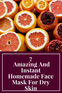 Homemade Face Mask For Dry Skin