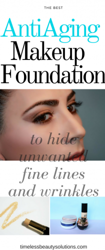 Anti aging makeup foundation