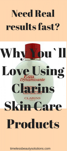 Clarins skin care products and clarins skin care