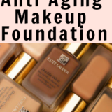 Your Questions About Best Anti Aging Makeup Foundation .Different bottles with different shades of foundation
