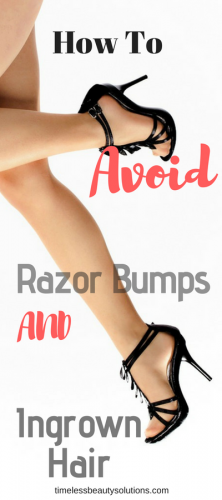 how to avoid razor bumps