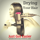 using Hair dryer at home
