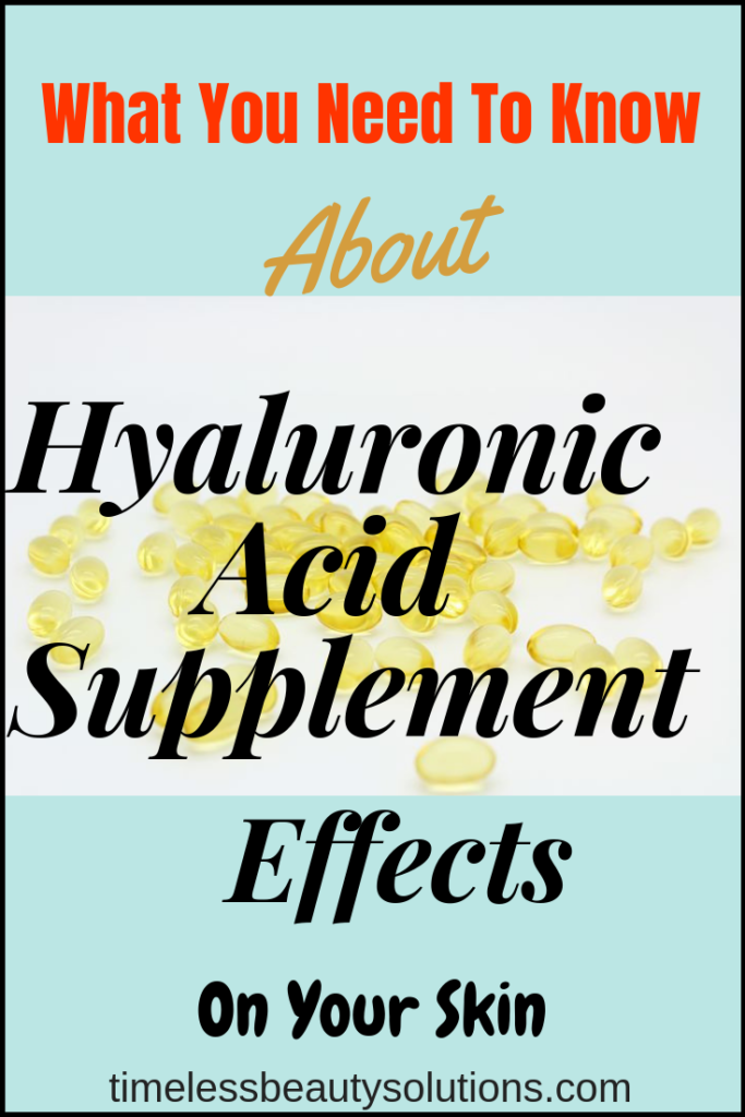 No Mistake Find The Best Hyaluronic Acid Supplement For Skin