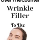 Using wrinkle filler