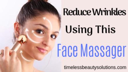 VIJUVE Anti Aging Face Massager[To Reduce Wrinkles]