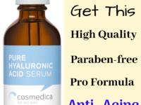Why You`ll Love Cosmedica Skincare Hyaluronic Acid Serum