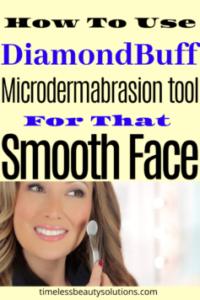 Diamondbuff microdermabrasion machine