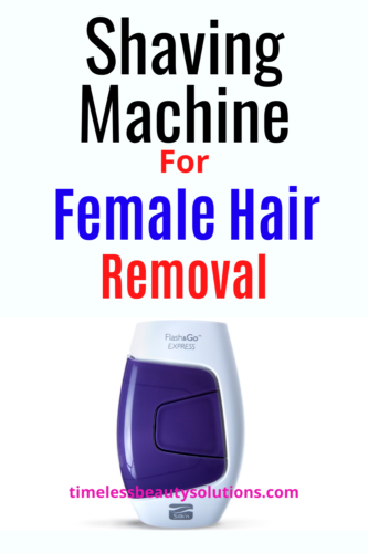 Hair removal and electric hair shavers for women