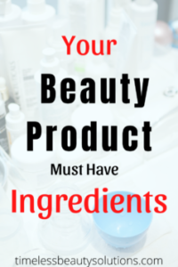 Do You Know What Is In Beauty Products You Are Using?