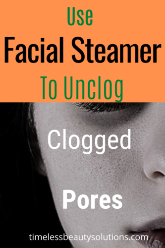 home use facial steamers to unclog clogged pores