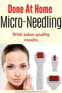 Microneedling at home