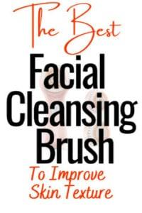 skin brush to improve skin texture