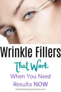 Wrinkle fillers