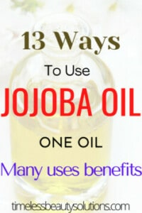 Benefits of Jojoba Oil on the skin ,damaged hair,and other jojoba oil recipes such as for lips,nails or acne.This is an all round beauty power house.Benefits of jojoba oil means it`s almost a sin not to include it in your beauty regimen.