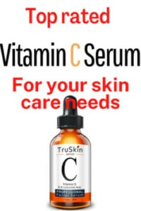 TruSkin Vitamin C Serum for Face, Topical Facial Serum with Hyaluronic Acid, Vitamin E Forget about investing in fancy skin care products like hyaluronic acid and ceramides.Invest in a good Vitamin C serum