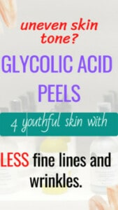 What Is Glycolic Acid peel? we call it a facelift in a bottle.Use it to remove dead skin cells and other skin imperfections like sun damage to achieve that clear youthful skin.