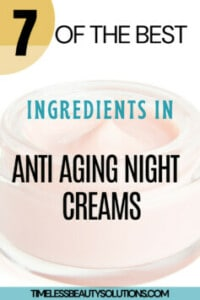 Night creams are more hydrating than daytime moisturizers and help your skin recover and repair itself while you sleep.