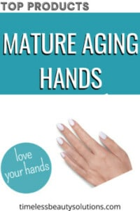 Hand creams for mature hands to reduce wrinkles and crepey skin or sun damage