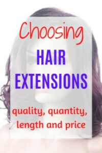 Tape in hair extensions for immediate length and volume, even for short, thin hair