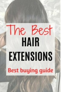 Adhesive hair extensions are an affordable and easy way to give you the hair of your dreams