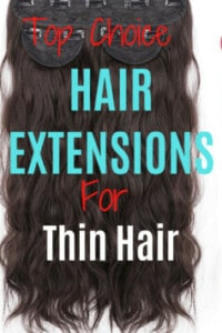 Best Hair Extensions For Thin Hair that will not damage your natural hair but give you immediate length and volume