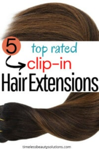 Clip in Hair Extensions to choose from, silicone weft clip-in extensions to more affordable extensions for fine to naturally curly hair.