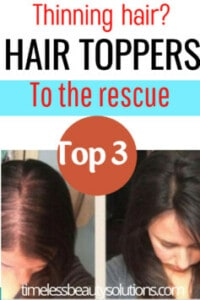 Hair toppers for women with thinning hair