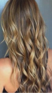 Clip in hair extensions for immediate length, volume