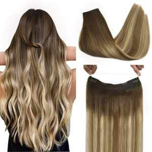Remy Hair Extensions Clip in Human Hair Moresoo